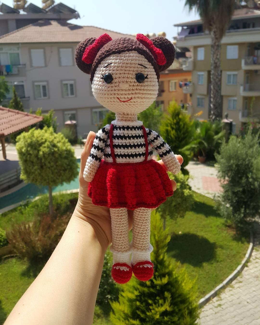 Amigurumi Türkiye-Minik Bebek Tarifi | 1350x1080