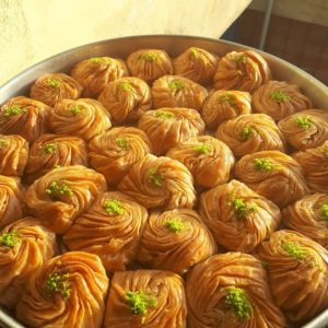 Gül baklava