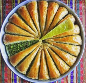 Havuç dilimi baklava