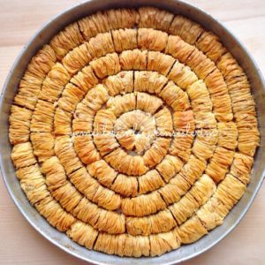 Büzme baklava