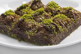 Çikolatalı baklava