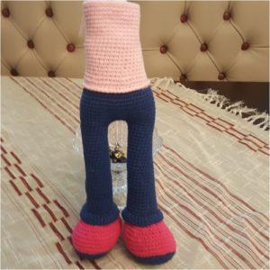 Amigurumi Kız Bebek Yapımı 3.Bölüm - Bacak Birleştirme ve Gövde ... | 300x300