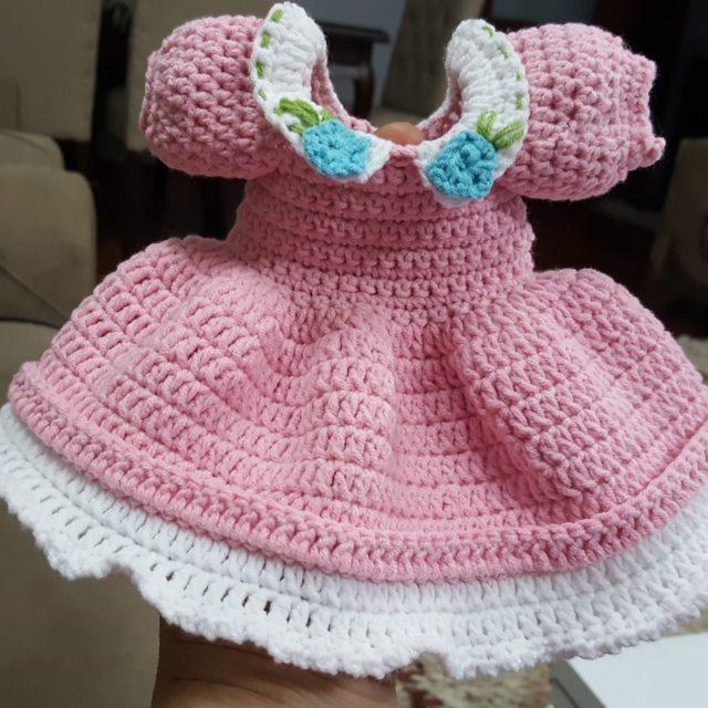 Amigurumi Bebek Elbise Yapımı