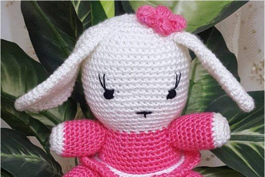 Örgü Oyuncak Sevimli Tavşan Yapımı