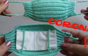 Örgü Corona Maske Yapımı, Yıka Yıka Kullan