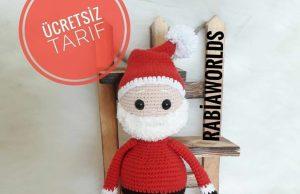 Örgü oyuncak & Noel Baba Tarifi
